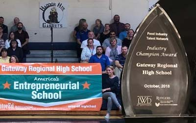 Partnership Venture Between MASCEC and Gateway Regional High School Leads to National Recognition
