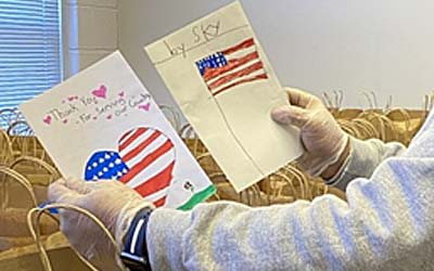 "Grade Schoolers Say ""Thank You"" to Local Veterans"
