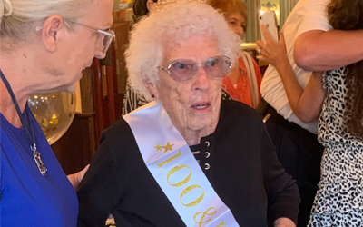 Happy 100th Birthday to Auntie Lee!